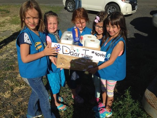 Daisy Troop Donations